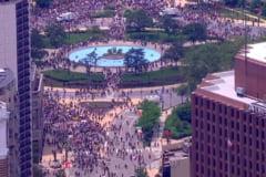 Peste 43.300 de membri ai Garzii Nationale, mobilizati in SUA. Mii de oameni, adunati in Washington si Philadelphia