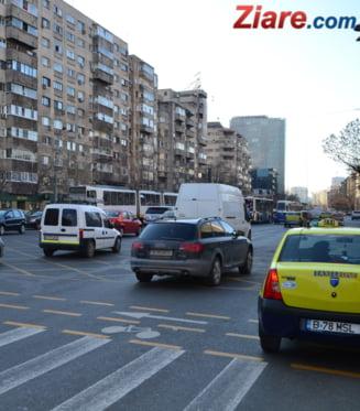 Peste 7.000 de taximetristi protesteaza, miercuri si joi, in Capitala