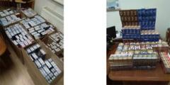 Peste 83.500 de tigarete de contrabanda si alte bunuri, in valoare totala de aproape 70.000 de lei, confiscate