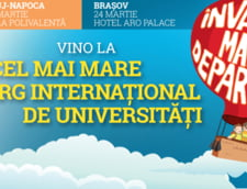 Peste 95 de universitati si institutii de invatamant de pe 4 continente vin in Romania