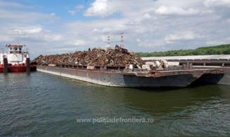 Peste o mie de tone de deșeuri periculoase, transportate ilegal din Serbia, oprite la Cernavodă