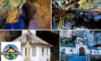 Pestera Ialomitei, modificari in programul de vizitare incepand cu 1 octombrie