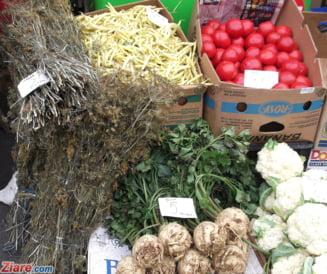 Pesticide in rosiile de import - legumele n-au ajuns pe mesele romanilor
