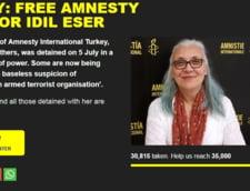 Petitie dupa ce Turcia a arestat directorul Amnesty International: Ea s-ar lupta pentru libertatea ta. Tu o ceri pe a ei?