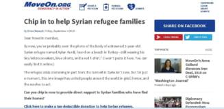 Petitie pentru a primi refugiati in America. Ce face Obama