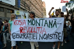 Petitie si protest dupa ce Guvernul Dancila a stopat procedura de includere a Rosiei Montane in UNESCO