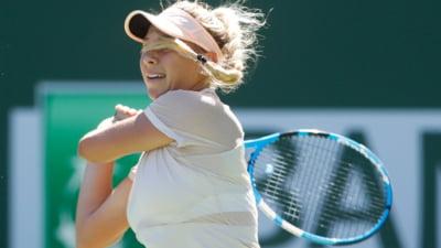 Petra Kvitova, dubla castigatoare la Wimbledon, eliminata la Indian Wells de o tanara de 16 ani