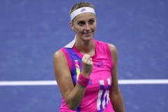 Petra Kvitova, eliminata in optimile de finala ale US Open. Adversara ei, Shelby Rogers, a salvat patru mingi de meci