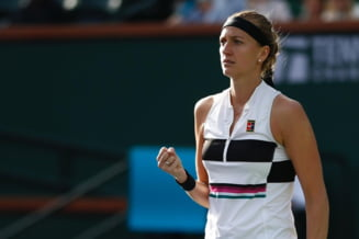 Petra Kvitova, finalista la Australian Open in 2019, eliminata in turul II la Indian Wells