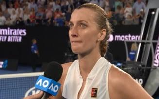 Petra Kvitova, in lacrimi dupa calificarea in semifinale la Australian Open: Ce a declarat tensimena din Cehia