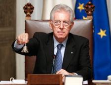 Petrecerile erotice au luat sfarsit - Mario Monti a sarbatorit Revelionul in familie