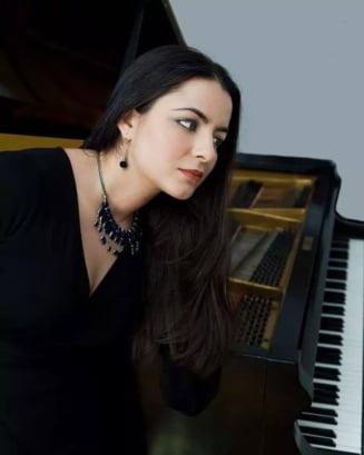 Pianista Ana Silvestru a sustinut, la Zurich, un concert caritabil dedicat copiilor romani ramasi orfani in urma Revolutiei din 1989