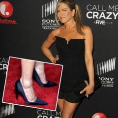 Picioarele lui Jennifer Aniston i-au ingrozit pe ziaristii americani
