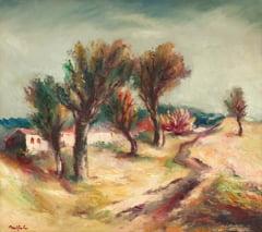 "Pictura zilei ""Peisaj fantastic"" de Adam Baltatu"