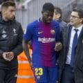 Pierdere grea pentru Barcelona: Un titular s-a accidentat si va lipsi mult timp