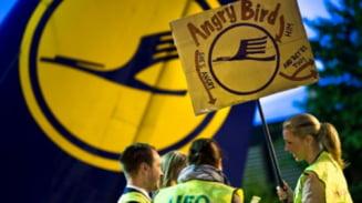 Pilotii Lufthansa intra din nou in greva
