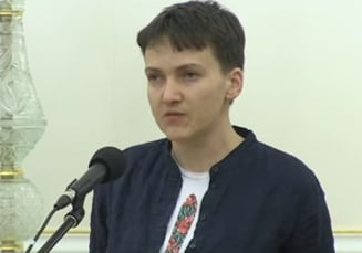 Pilotul Nadia Savcenko a fost arestata direct in Parlamentul din Ucraina: Planuia un atac armat si o lovitura de stat