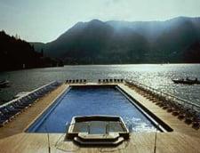 Piscina plutitoare, Villa D''Este, Lacul Como, Italia