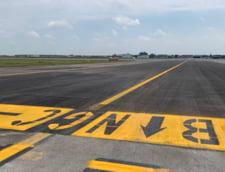 """Pista de rulare """"Delta"""" de la Aeroportul International """"Henri Coanda"""" a fost modernizata. Vor putea ateriza si decola avioane de categorie """"E"""""""