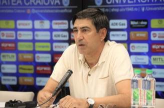 Piturca si-a prezentat planul maret dupa venirea la Universitatea Craiova
