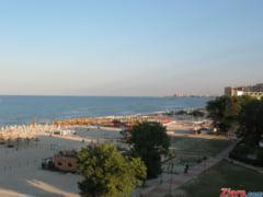 Plaja din Mamaia amenajata special pentru copiii cu dizabilitati, ocupata din nou de turisti (Foto)