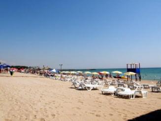 Plajele din Mamaia nu sunt pregatite pentru turisti, de 1 Mai