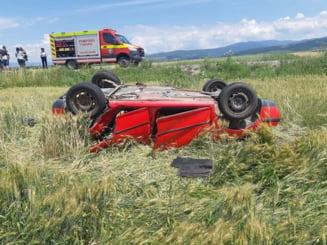 Plan Rosu de interventie! Accident cu 12 persoane implicate