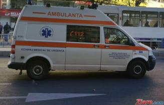 Plan Rosu de interventie in Galati: O persoana a murit si alte sapte au fost ranite intr-un accident rutier