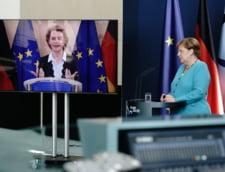Plan de relansare al UE: Ursula von der Leyen si Angela Merkel doresc un acord rapid