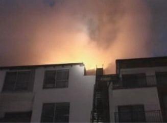 Plantatie de canabis, data de gol de un incendiu, la Brasov - opt apartamente afectate