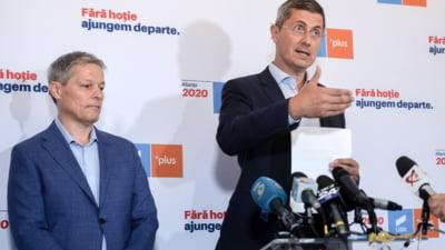 Planul USR PLUS: Cioloș și Barna merg cu moțiunea de cenzură la guvern