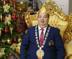 Planurile autointitulatului rege al romilor, Dorin Cioaba, daca ar castiga alegerile pentru primaria Sibiului