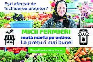 Platforma gratuita pentru micii fermieri