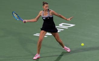 Pliskova, eliminata in sferturi la Dubai dupa un meci incredibil: A condus cu 5-1 in setul decisiv!