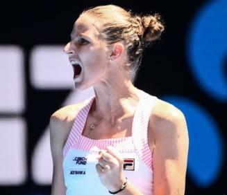 Pliskova o invinge pe Serena Williams la Australian Open dupa o revenire cum rar se vede in tenis