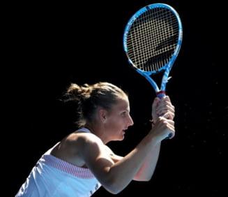 Pliskova o umileste pe Muguruza la Australian Open si o asteapta pe Simona Halep in sferturi