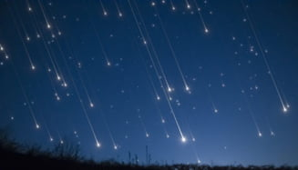 Ploaia de stele cazatoare a Cometei Halley, in curand, pe cerul Romaniei: Cand va avea loc? VIDEO