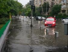 Ploaia din aceasta dimineata a transformat iar Bucurestiul intr-un mare lac (Foto&video)