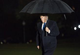 Ploaia l-a determinat pe Trump sa faca un gest aspru criticat deopotriva de americani si Europa