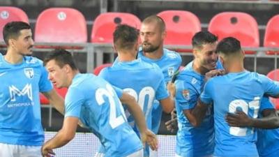 Ploaie de goluri în meciul Voluntari - Mioveni din Liga 1. Patru reușite în ultima jumătate de oră. Care a fost scorul final
