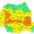 Ploi abundente in Romania. 17 judete au intrat sub avertizare de cod portocaliu: pericol extrem de inundatii
