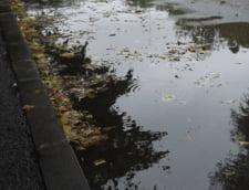 Ploi torentiale in toata tara Zeci de locuinte inundate, drumuri inchise, trenuri oprite