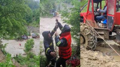 Ploile au facut prapad in Vrancea. 11 localitati, afectate VIDEO