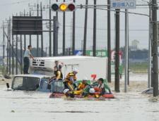 Ploile fac ravagii in Japonia: Peste 70 de persoane au murit si cateva zeci au disparut