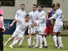 Poate fi golul anului in Liga 1! Constantinescu a marcat pentru Concordia dupa o foarfeca de zile mari (Video)