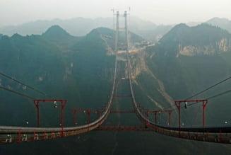 Podul Aizhai, cel mai lung pod suspendat din lume