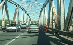 Podul Olt de la Slatina, inchis temporar