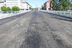 Podul vechi din Tg. Lapus s-a reabilitat