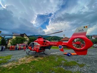 Poiana Ilvei: Incident GRAV la cariera de piatra! S-a solicitat elicopterul SMURD