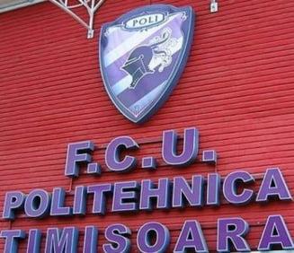 Poli Timisoara si-a luat adio de la Liga 1